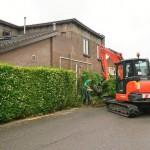 Uitbouwen parkeerplaats 2